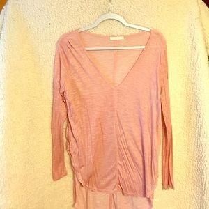 Lush high/low blush tunic - never worn!